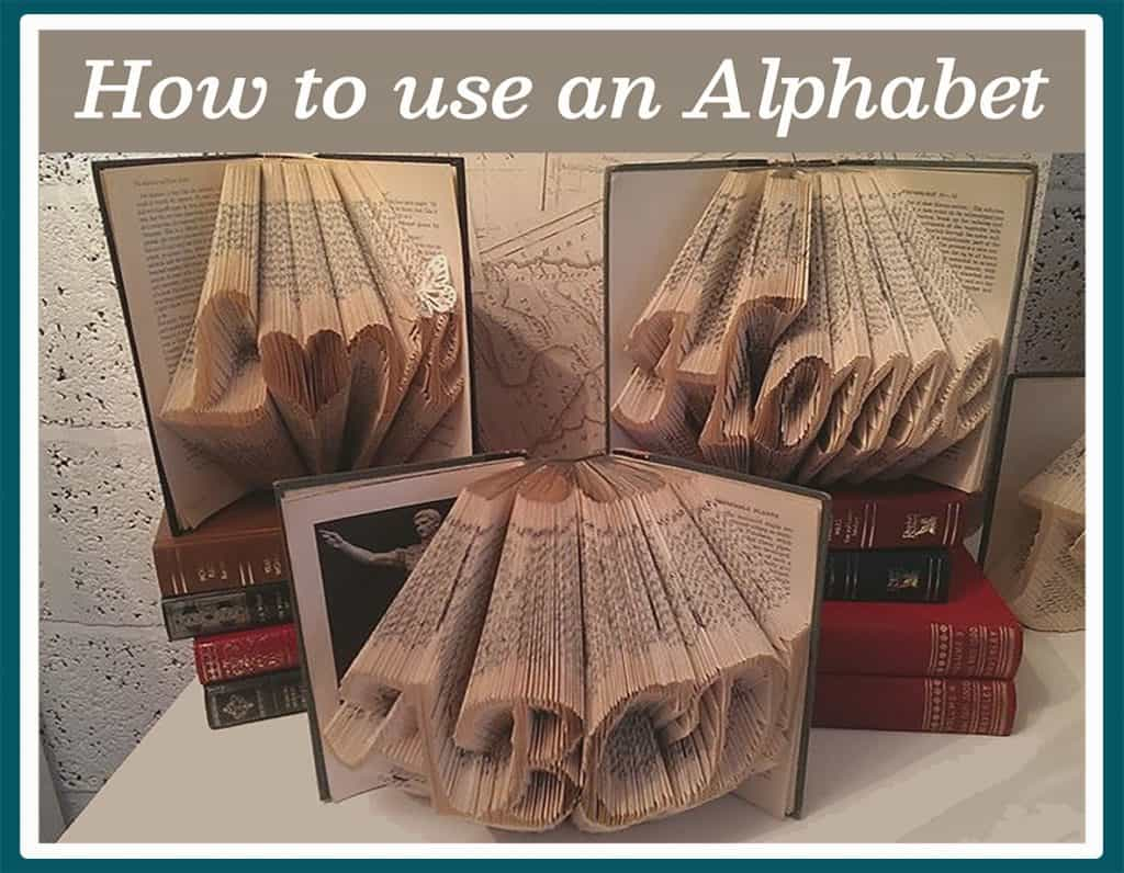 How to use an alphabet blog post