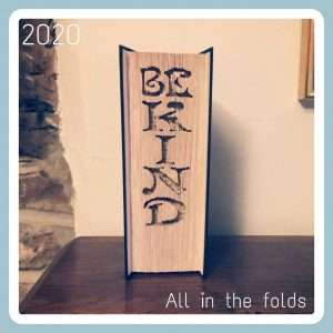 Be Kind cut and fold pattern