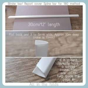 Tool for 180 fold