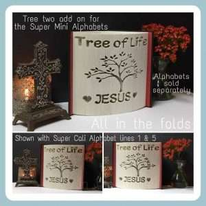 Tree two addon for super mini alphabets