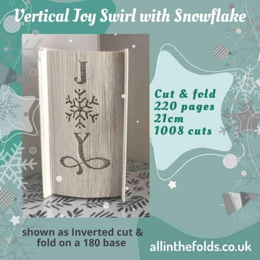 vertical Joy swirl with snowflake sq